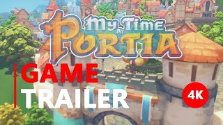 My Time At Portia - Crafting Trailer | 4K