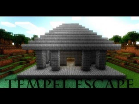 Проходим карту Minecraft- Temple Escape #1