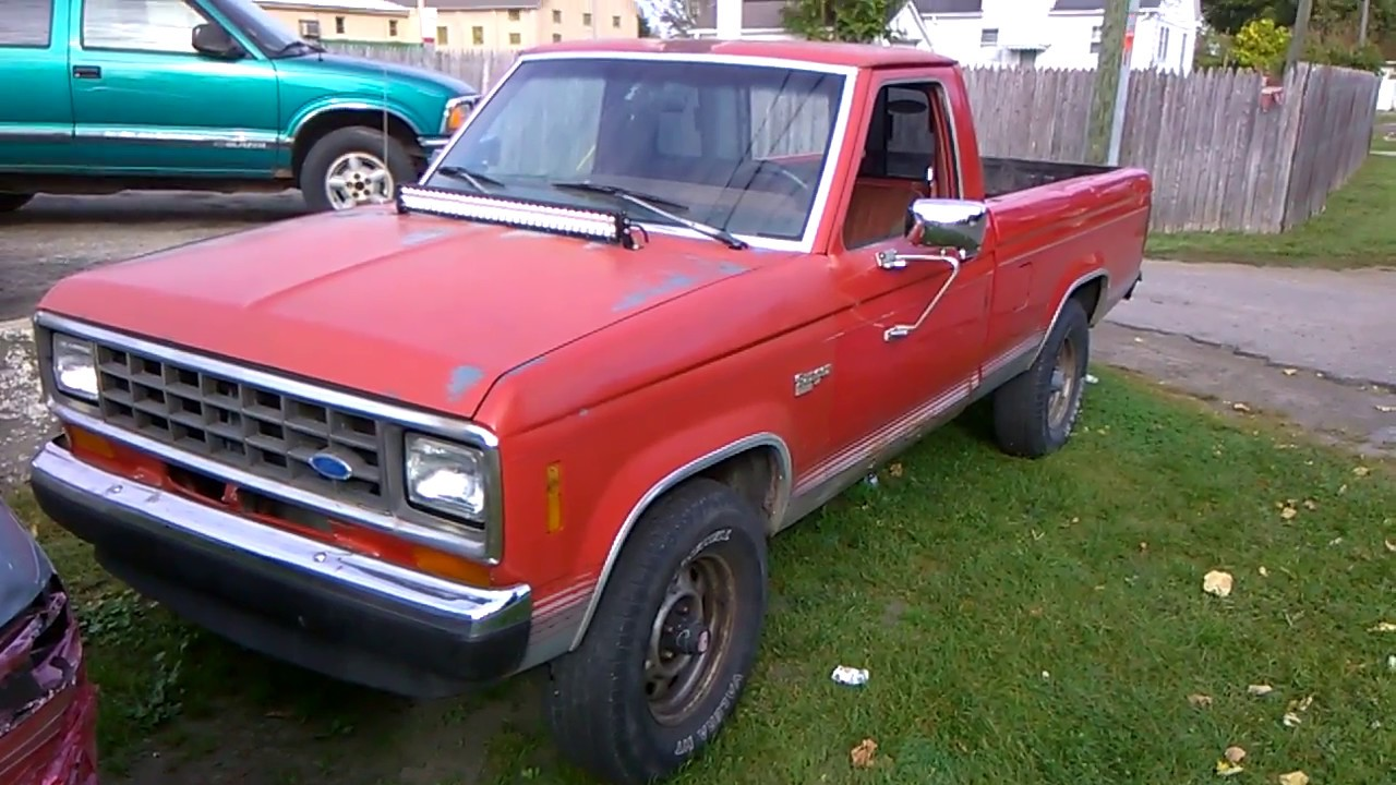 1986 ford ranger xlt youtube. Black Bedroom Furniture Sets. Home Design Ideas