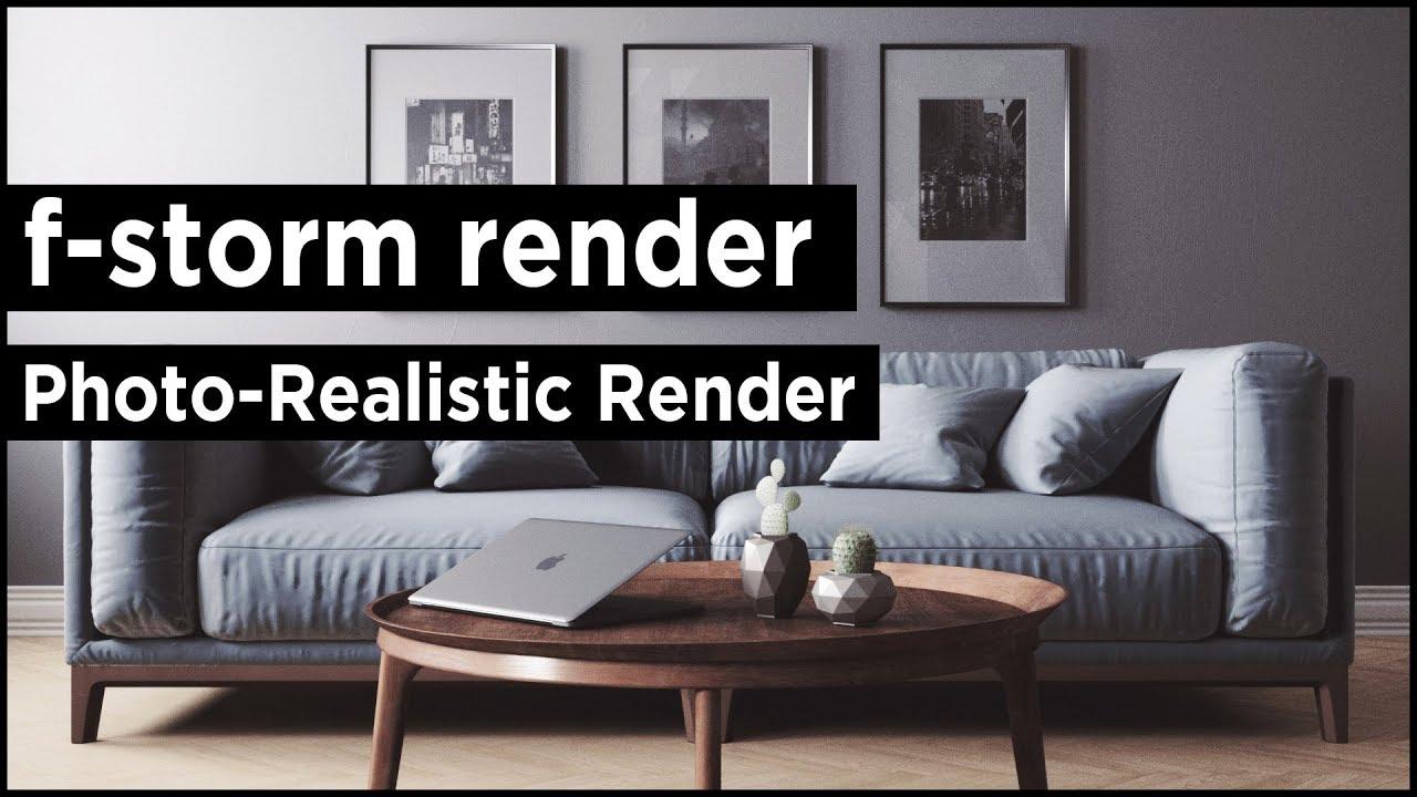 FStormRender V1.45 for 3ds Max 2016 – 2022