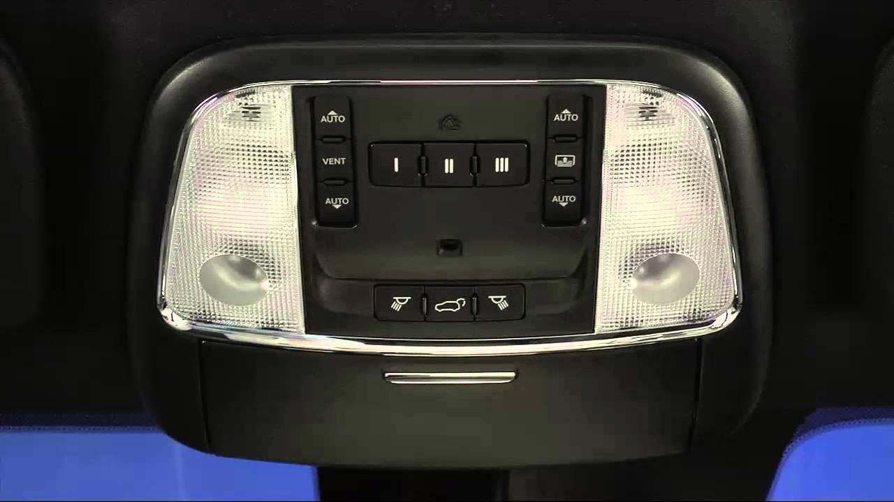 2016 jeep grand cherokee   power sunroof - youtube