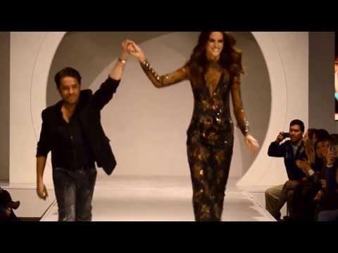 Izabel Goulart walks for Claudio Mansilla at Santiago Fashion Week August 2013