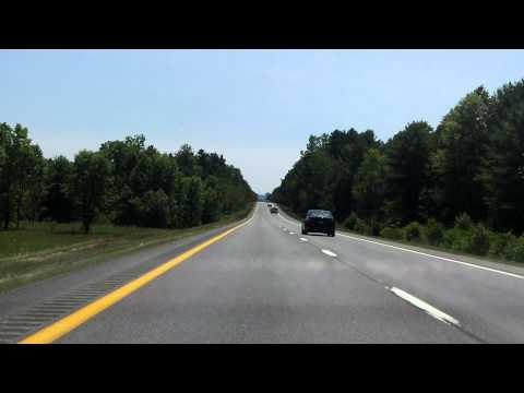 Adirondack Northway (Interstate 87 Exits 38 to 35) southbound