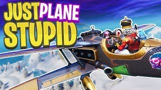 This is Just Plane Stupid... - PS4 Pro Fortnite BR Solos!