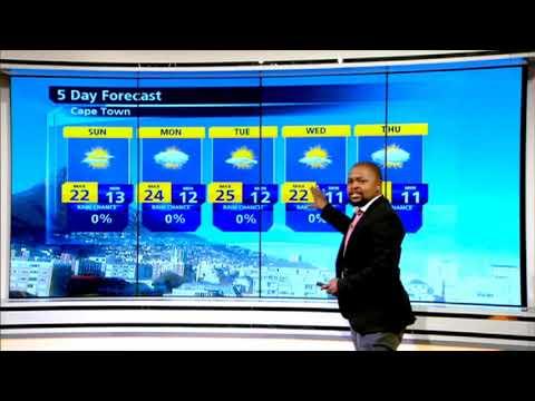 #SA Weather Report   11 May 2019