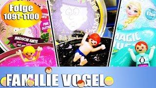 Playmobil Filme Familie Vogel: Folge 1091-1100 | Kinderserie | Videosammlung Compilation Deutsch