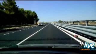 Strada Statale 96: aperto al traffico primo segmento a quattro corsie