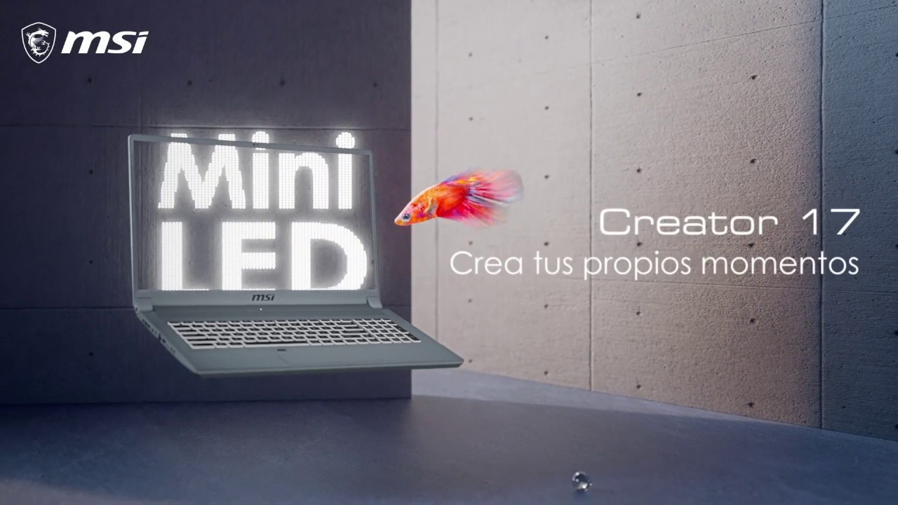 [CREATOR 17] | Descubre la tecnología Mini LED con Creator 17 | MSI Content Creation
