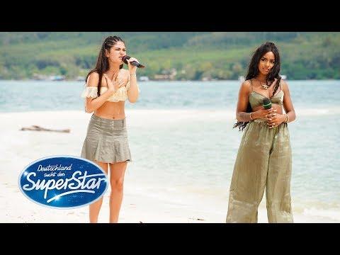 "DSDS 2019  Gruppe 08  Alicia & Joana mit ""Clown"" von Emeli Sandé"