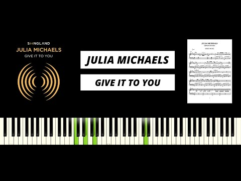 Julia Michaels - Give It To You - Songland 2020 (Piano Tutorial & Cover)