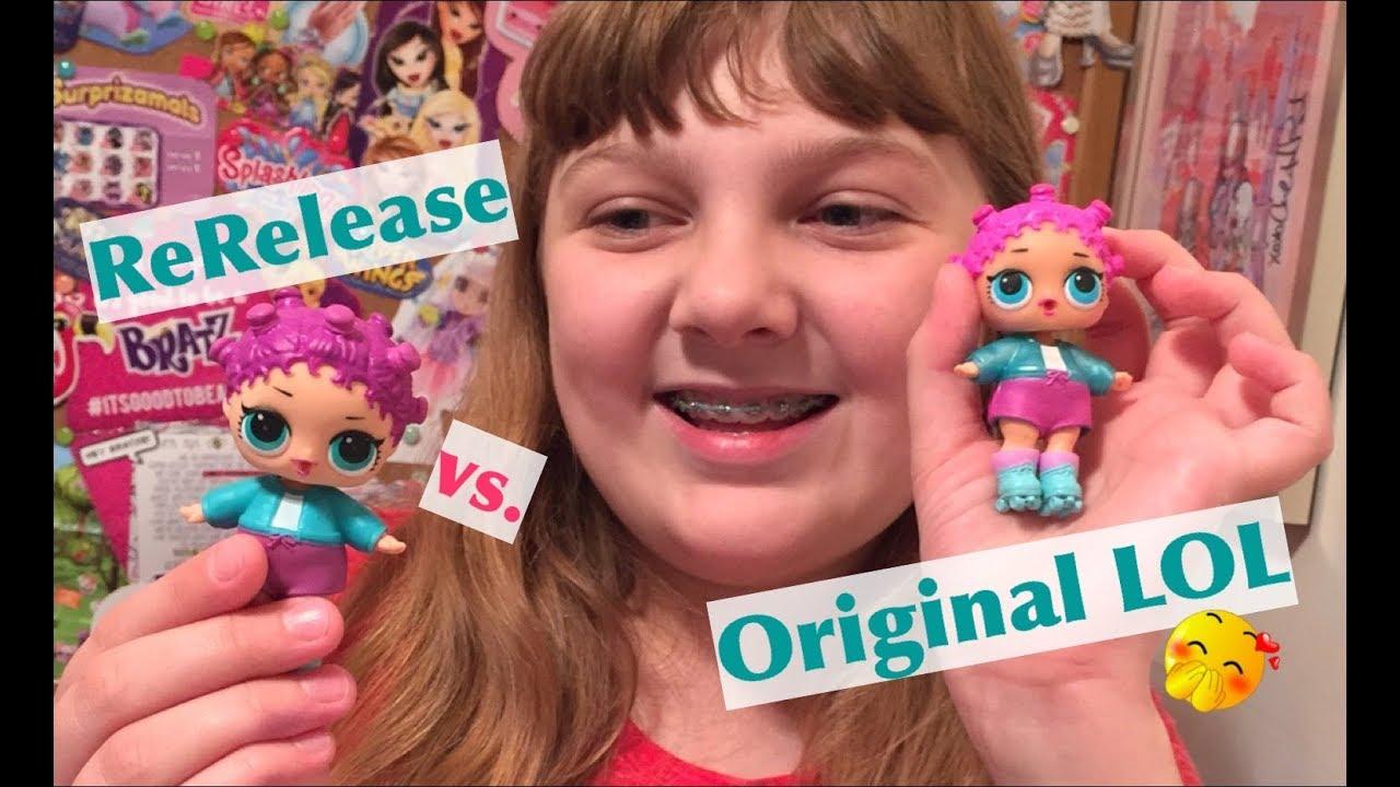 Lol Surprise Original Vs Re Release Series 1 Doll Comparison
