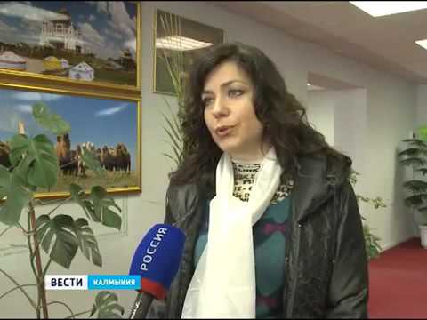 TATIANA PECHNIKOVA ~ interview for  Elista TV (Republic of Kalmykia, Russia)