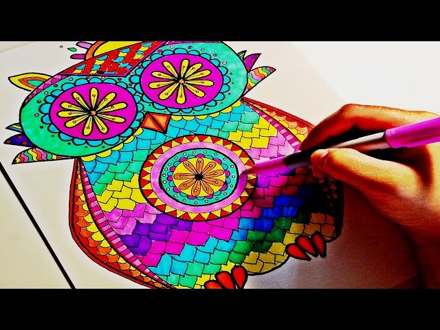 Coloring Art Book Mandala
