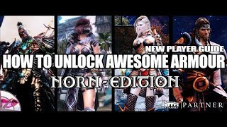 Guild Wars 2 New Player Guide | How To Unlock Awesome Norn Armours | Fashion Wars