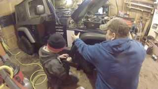 Jeep Wrangler TJ Safari Snorkel Install