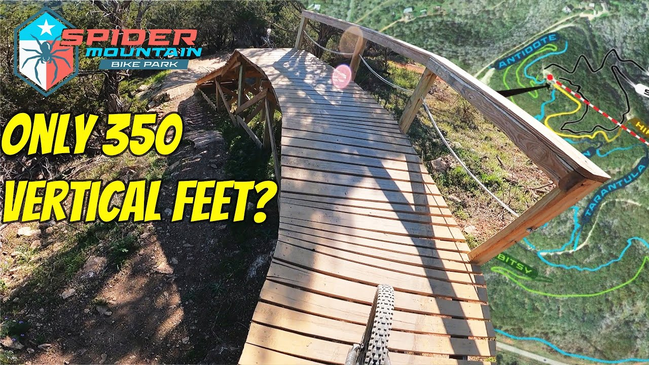 Is Spider Mountain Bike Park Worth Riding with only 300 feet of Descent?