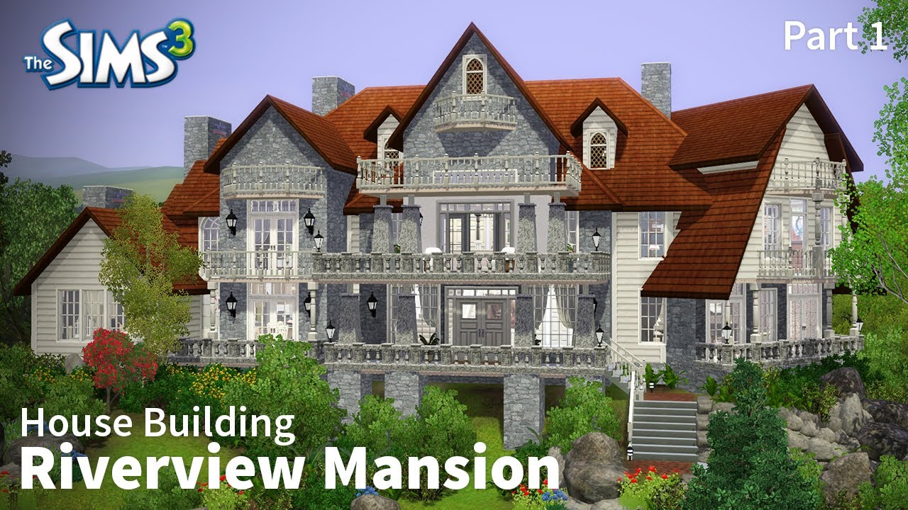 how to build a mansion sims 3