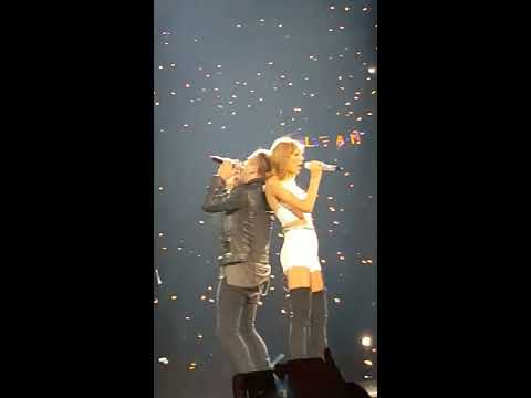 Taylor swift and Ryan Tedder singing counting stars