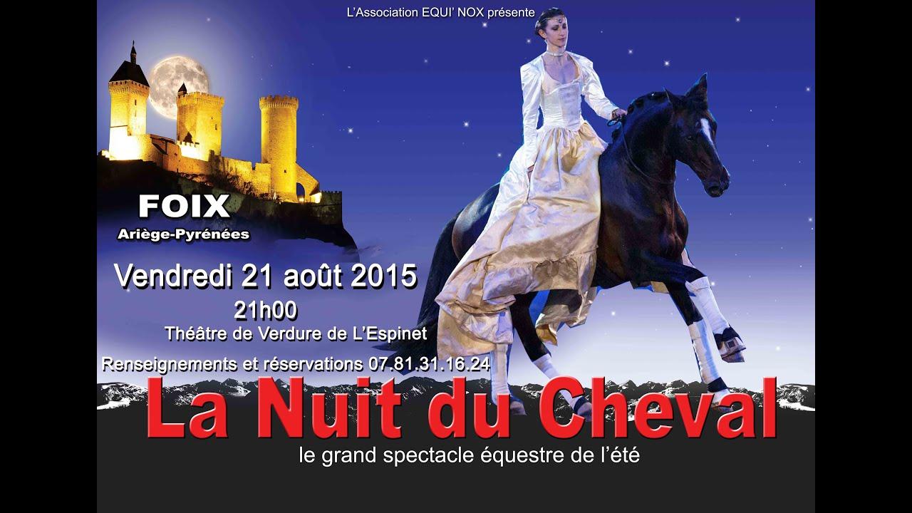 Clip La Nuit du Cheval-Equi'Nox 2015