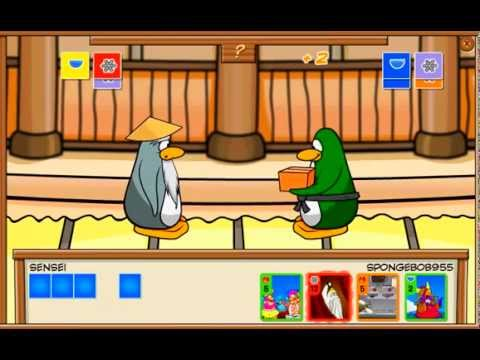 (THE NEW) CARD JITSU POWER CARDS PART 1/6
