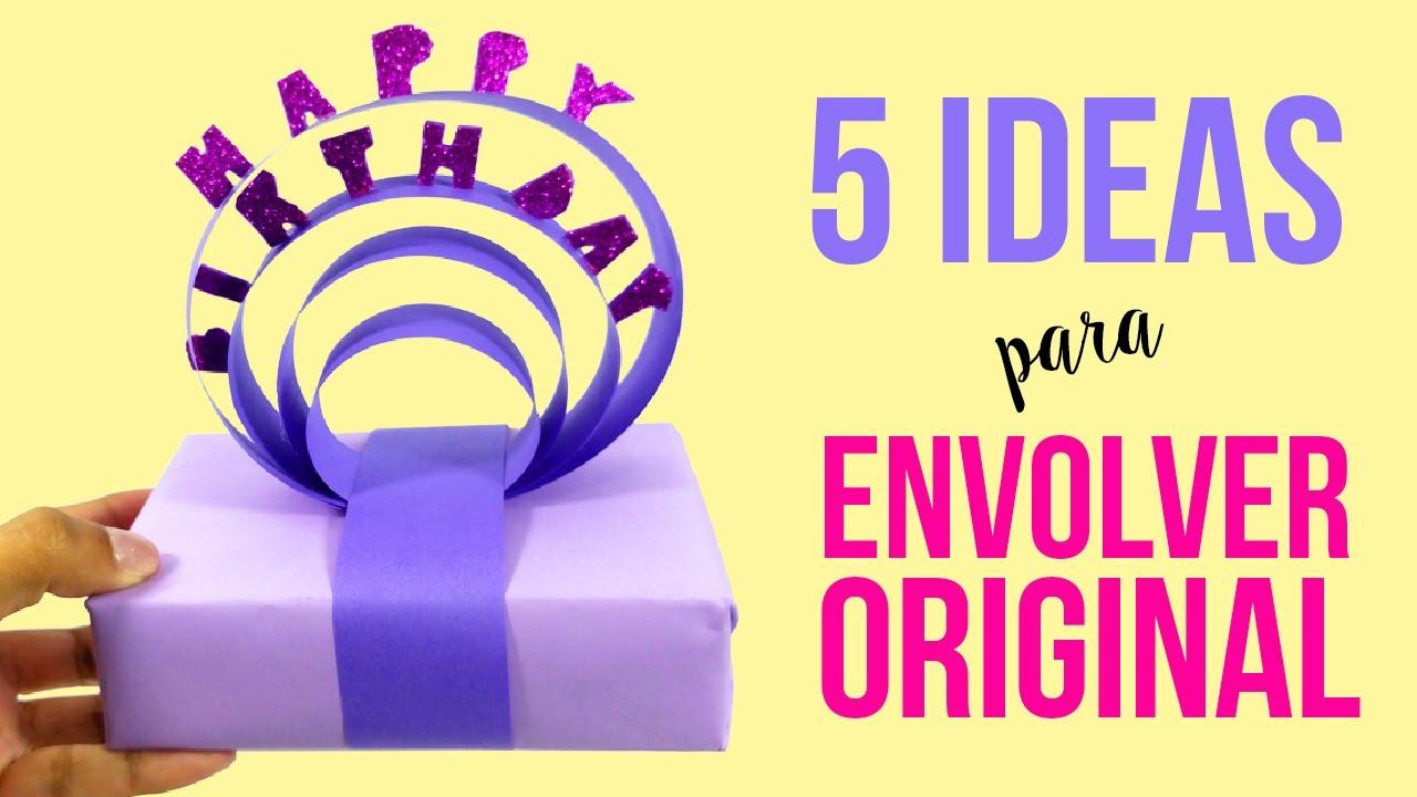 5 ideas para envolver regalos de manera original c mo - Envolver regalos de forma original ...