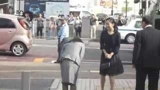 佳子内親王殿下 米子市公会堂よりご退出 平成27年9月22日 佳子内親王 動画 8