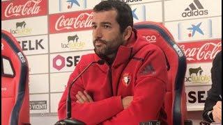 Diego Martínez. Previa Oviedo-Osasuna