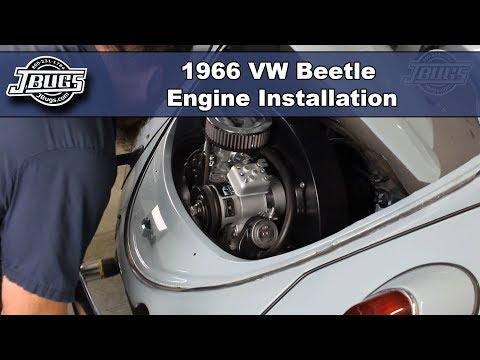 JBugs - 1966 VW Beetle - Engine Installation