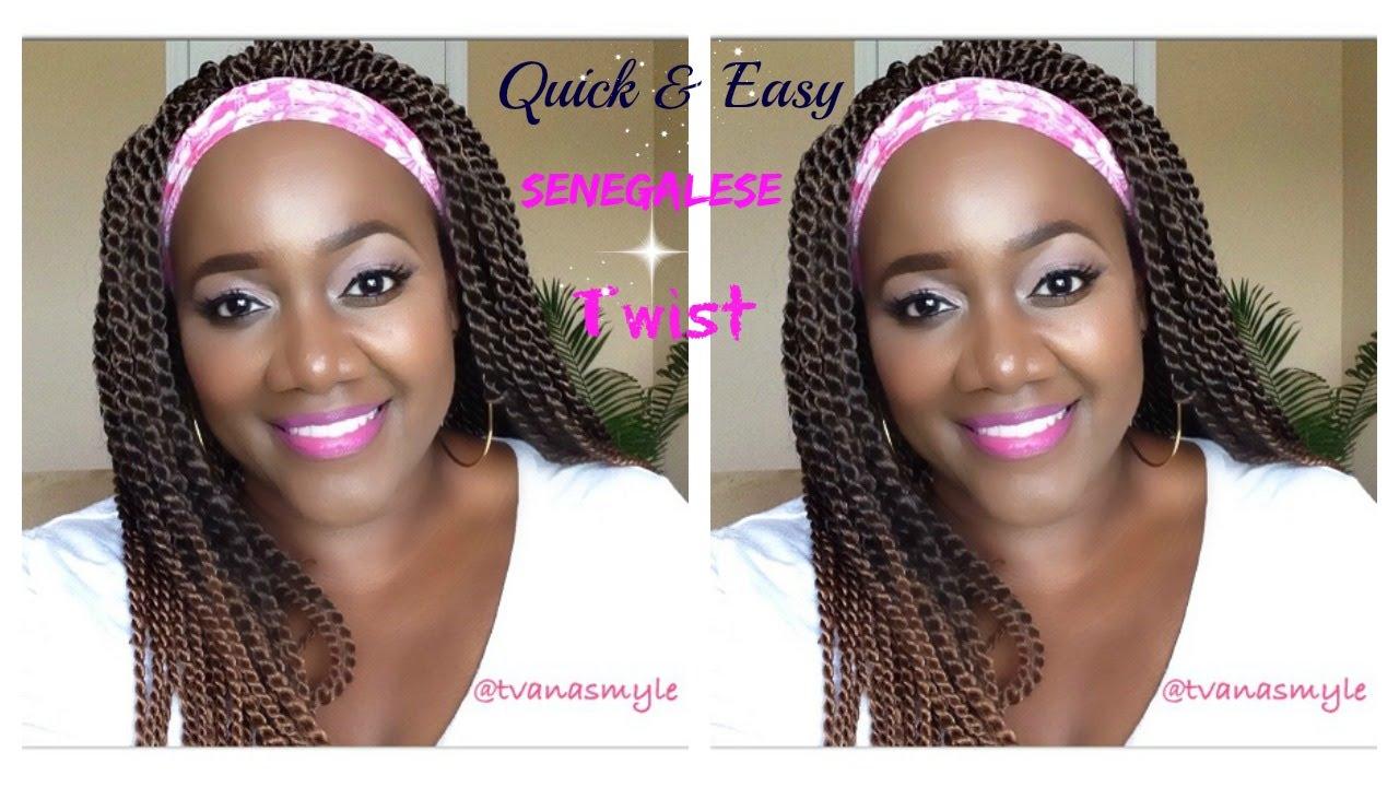 Easy Crochet Senegalese Twist Review Demo Model