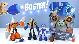 Mega Man: Fully Charged Action Figures Toys Jakks Pacific