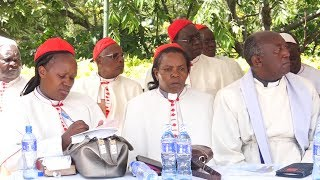 Archbishop Jackson Ole Sapit urges politicians to accept defeat in the August elections