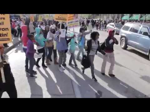 Trayvon Martin Tribute Rally/ Protest: Baltimore, Md.