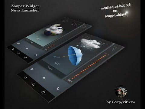 Weather Realistic V1 for Zooper Widget Pro - Most Popular Videos