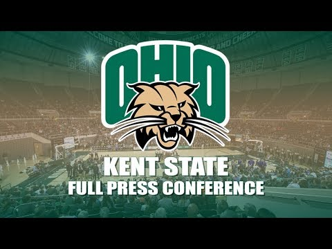OhioBobcatTV Live Stream: MBB vs Kent State Post Game Press Conference