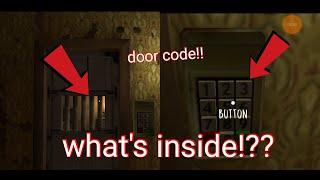 Find the door code Evil nun(mepop)
