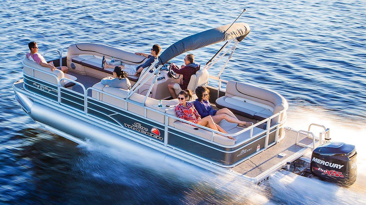 Sun Tracker Pontoon Boats >> Sun Tracker Boats 2016 Party Barge 24 Dlx And Xp3 Recreational Pontoon Boats