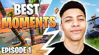 Fortnite Best Moments Eps 1 - TSM_MYTH TURNS INTO SGT MYTH !! - FaZe TFUE Raids FRIEND - NINJA CLIP