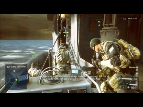 Battlefield 4 - Mission 3 - South China Sea - Hard Difficulty - Tombstone Trophy/Achievement