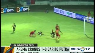 Arema Vs Barito Putera 1-0 || Highlights And All Goals || Qnb League Rabu 8 April 2015