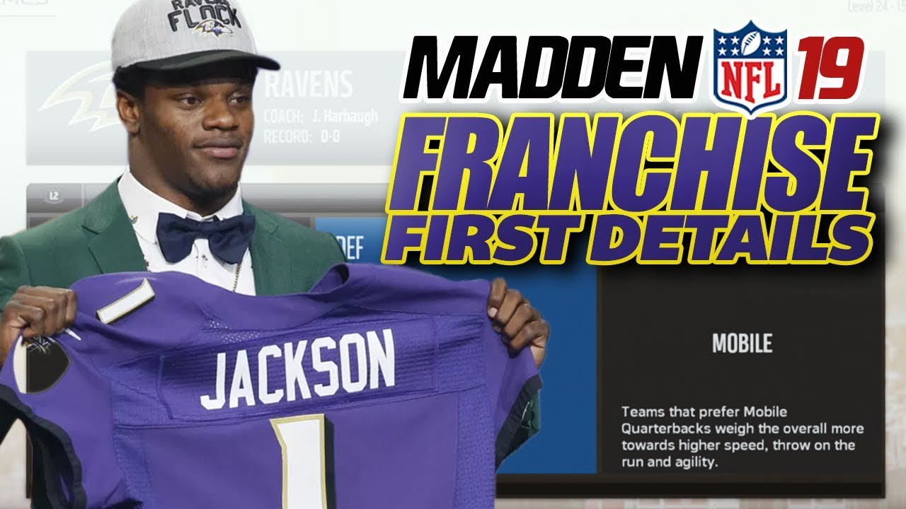 MADDEN NFL 19 FRANCHISE FIRST DETAILS! Schemes, Archetypes, Custom Draft Classes and More!