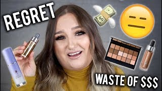 UGH! WASTE OF $$.. | MAKEUP PRODUCTS I REGRET BUYING | RAWBEAUTYKRISTI