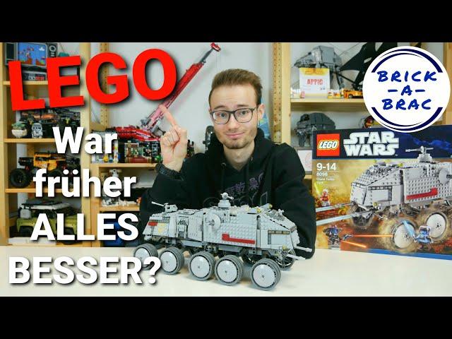 LEGO® Star Wars: War früher alles besser? - eine Analyse anhand des 8098 Clone Turbe Tank von 2010!