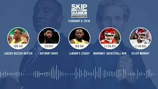 UNDISPUTED Audio Podcast (02.08.19) with Skip Bayless, Shannon Sharpe & Jenny Taft | UNDISPUTED