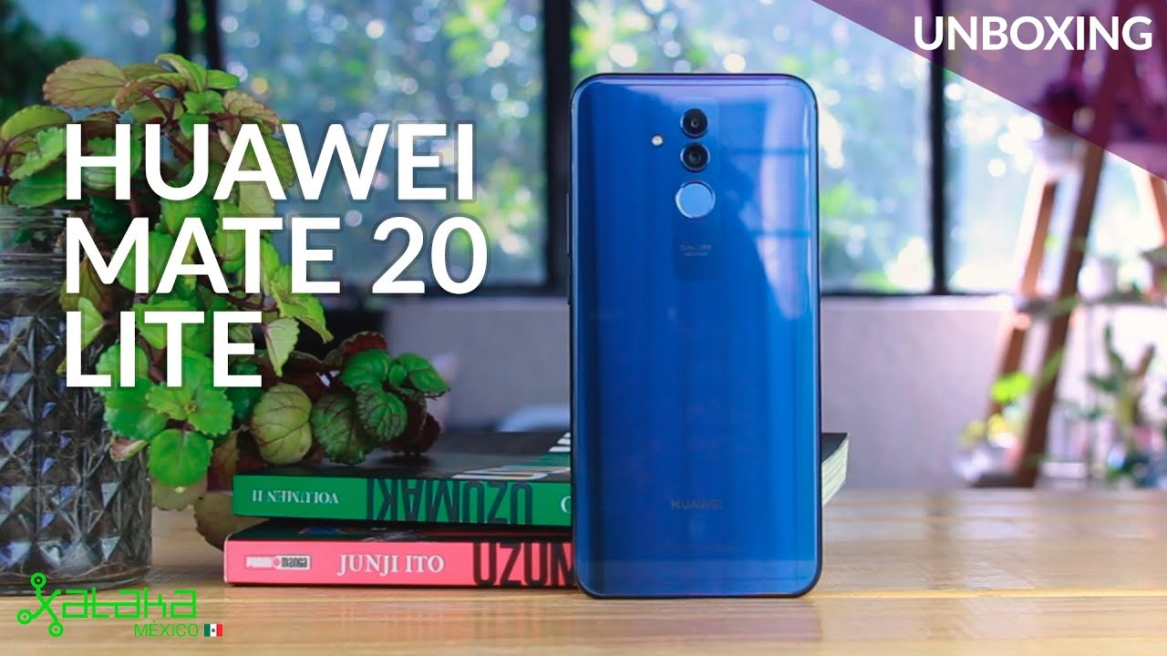 huawei mate 20 lite unboxing y primeras impresiones en. Black Bedroom Furniture Sets. Home Design Ideas