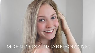 MORNING SKIN CARE ROUTINE| HOW TO STAY PIMPLE-FREE!