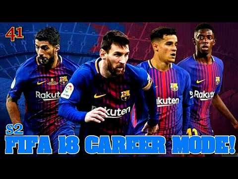 FIFA 18 |CL GROUP STAGE MATCH DAY 03 | BARCELONA CAREER MODE