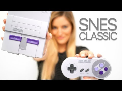 SNES Classic Unboxing and Gameplay!!