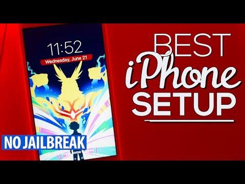 The BEST iPhone SETUP 5! (NO JAILBREAK) (NO COMPUTER) (AD)