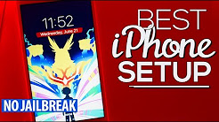 The BEST iPhone SETUP 5! (NO JAILBREAK) (NO COMPUTER) (AD)