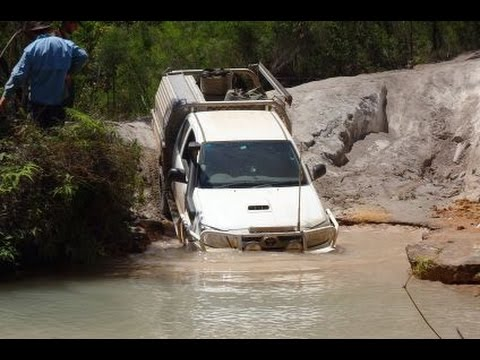 "Some River Crossings Out Back Australia ""Telegraph Track"""